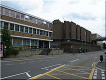 TQ7568 : Former Police Station, Medway Magistrates Court by Danny P Robinson