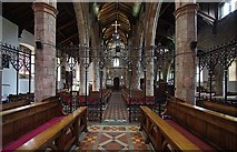 SD6178 : St Mary's Church, Kirkby Lonsdale, Cumbria - West end by John Salmon