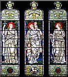 SD6178 : St Mary's Church, Kirkby Lonsdale, Cumbria - Window by John Salmon