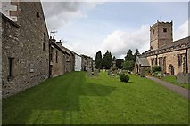 SD6178 : St Mary's Church, Kirkby Lonsdale, Cumbria - Churchyard by John Salmon