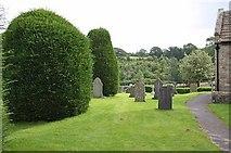 SD6382 : St Bartholomew, Barbon, Cumbria - Churchyard by John Salmon