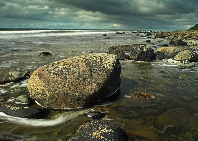 Flood tide, Luce Bay