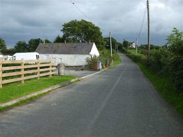 Road at Monlough