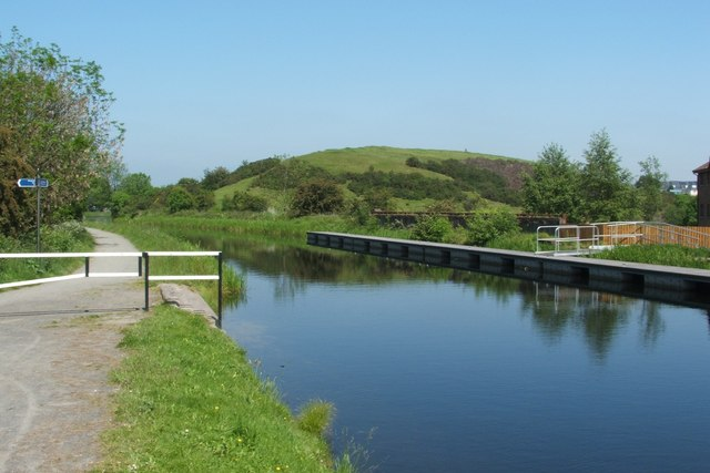 The Forth and Clyde Canal at Bonnybridge