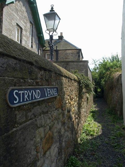 Strynd Vennel, Culross