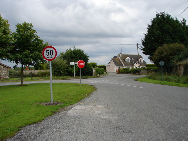 Road Junction at Castlefarm