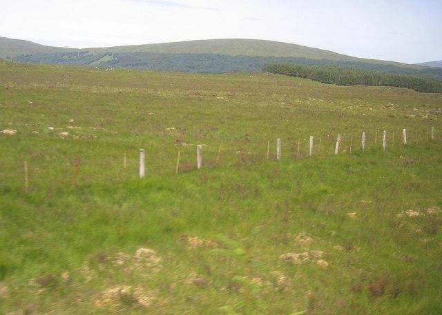 Rannoch Moor from the train