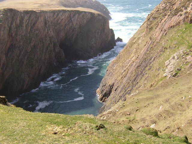 Coastline on north peninsula