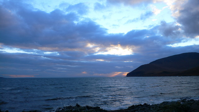 Dawn at An Claddach