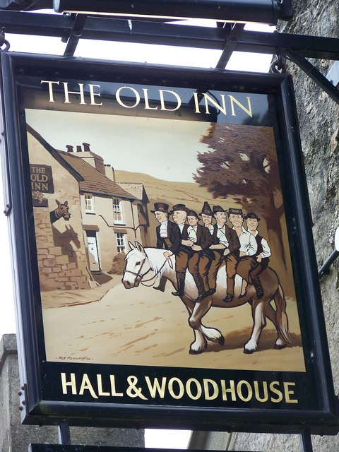 Sign for the Old Inn