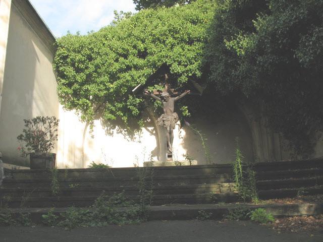 Crucifix, All Hallows church site
