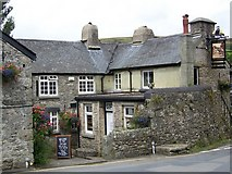 SX7176 : The Old Inn, Widecombe-in-the-Moor by Maigheach-gheal