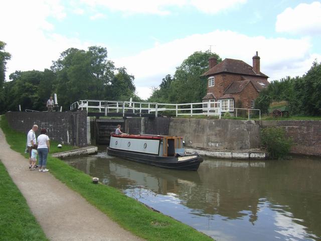 Grand Union Canal - Lock No 46 - Hatton Top Lock