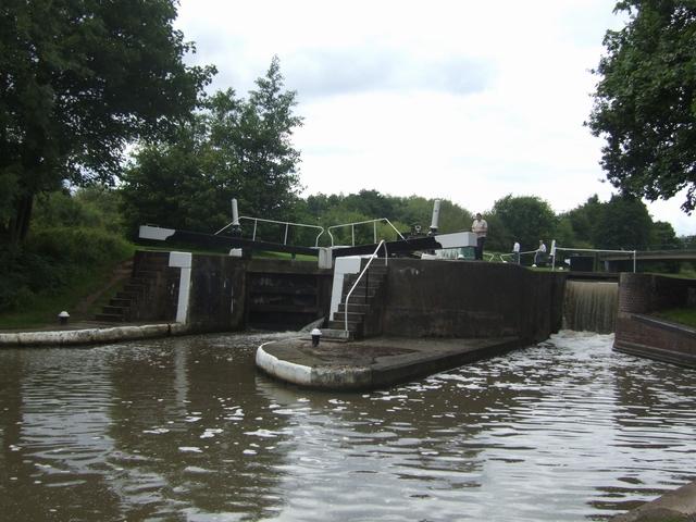Grand Union Canal - Lock No 26 - Hatton Bottom Lock