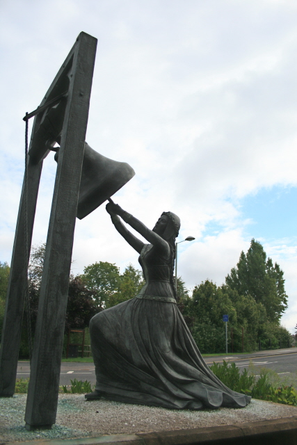 Statue of Blanche Heriot