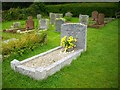 SV9110 : Harold Wilson's grave. St. Mary's, Old Town by Bob Embleton
