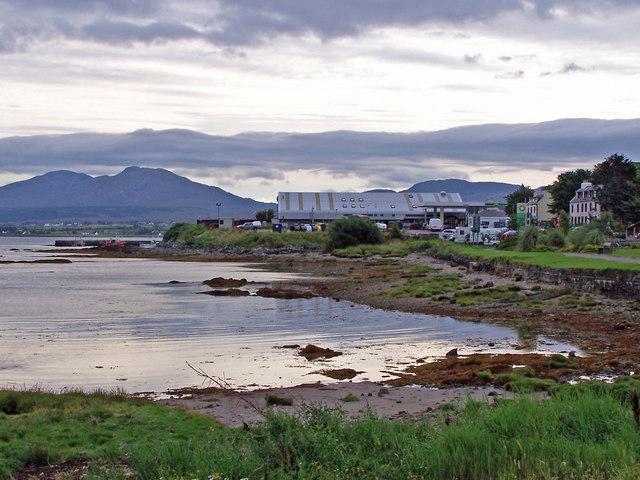 Broadford Bay shoreline