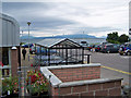 NG6423 : Car park with a view by Richard Dorrell