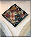 TF9700 : Holy Trinity Church, Scoulton, Norfolk - Hatchment by John Salmon