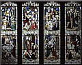 SD4096 : St Martin, Bowness on Windermere, Cumbria - Window by John Salmon
