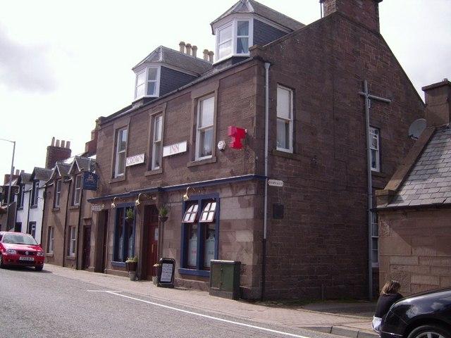 The Crown Inn, High Street,  Laurencekirk
