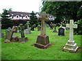 NY4756 : Our Lady and St Wilfred Church, Warwick Bridge, Graveyard by Alexander P Kapp