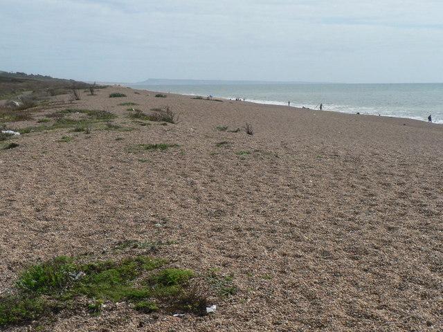 West Bexington: Chesil Beach