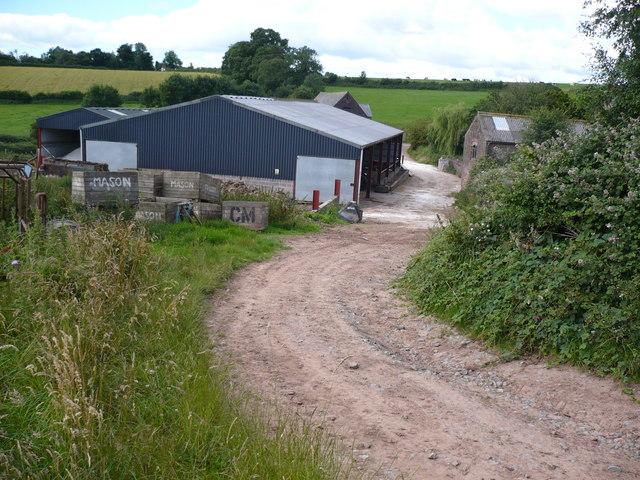 Farm buildings at Merrivale Farm