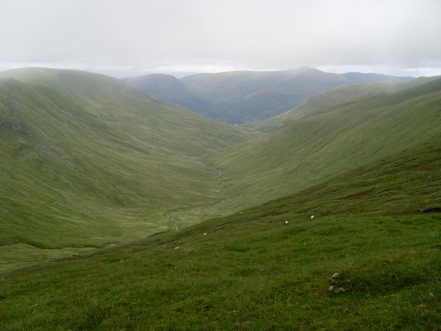Glen of Allt a' Chobhair
