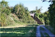 SU5187 : Fork in the track by Bill Nicholls