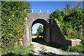 SU5187 : Bridge over the track by Bill Nicholls