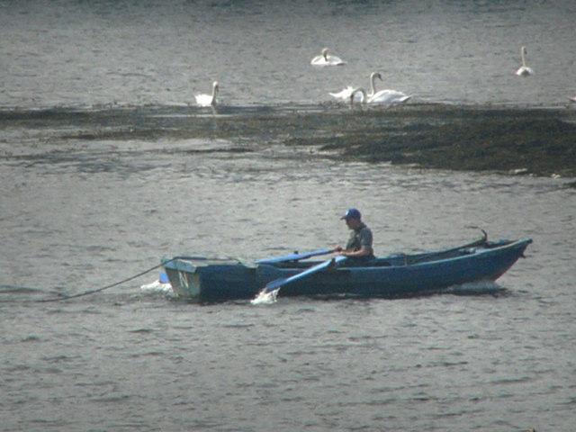Fishermen River Tweed
