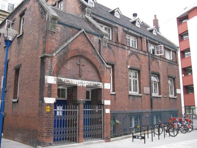 St Clement  Danes Parish Hall- Sheffield Street-Clare Market