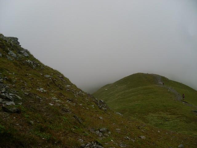 Looking to Beinn Ghlas summit