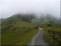 NN6240 : Path on the Ben Lawers ridge by Stephen Sweeney