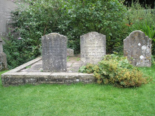 Graves of Jane Austen's mother and sister