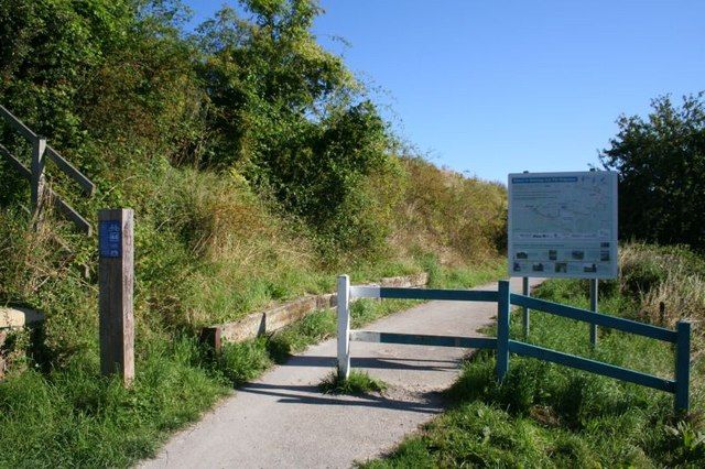 Path up route 44