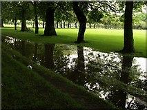NT2572 : Flood on the Meadows by Derek Harper
