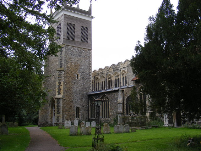 St Mary and St Lambert Church, Stonham Aspal