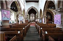 SD4983 : St Peter's Church, Heversham, Cumbria - East end by John Salmon