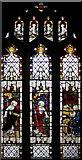 SD4983 : St Peter's Church, Heversham, Cumbria - Window by John Salmon