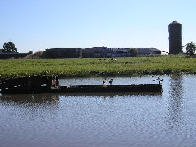 Higginslane Farm and Billinge Green Flash