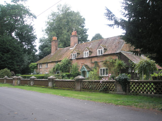 Delightful cottages near Chawton Manor