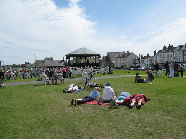 Bandstand and Green - Deal