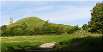 ST5038 : Western end of Glastonbury Tor by Jim Champion
