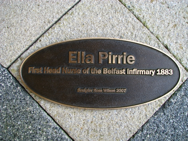 Ella Pirrie statue, Belfast City Hospital [detail]