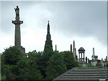 NS6065 : Glasgow Necropolis by Thomas Nugent