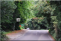 TQ5359 : Road junction near Otford by N Chadwick