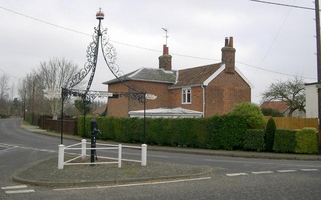 Pump at Bredfield, Suffolk