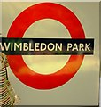 TQ2572 : Wimbledon Park station, SW19 by Phillip Perry